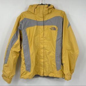 The North Face Hyvent nylon rain jacket